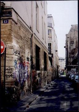 Paris 1900 : Halles - Sentier